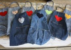 21 gorgeous ways to make the most of your old jeans  Don't bin worn out jeans! Put your denims to good use with these 21 pretty, yet practical, crafty ways to turn them from trash to treasure.