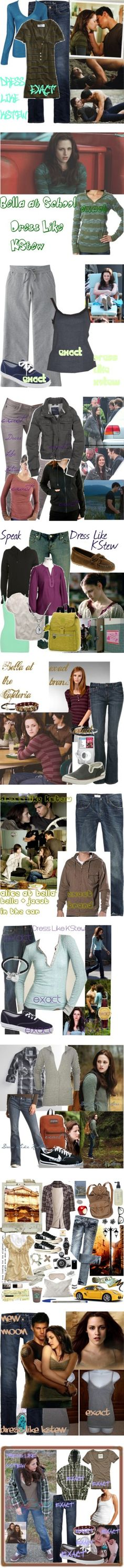 """Bella Swan Outfits"" by massiekur4u ❤ liked on Polyvore"