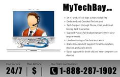Experience and Enjoy our best computer tech support services and work without any problem. Know more at: http://www.mytechbay.com