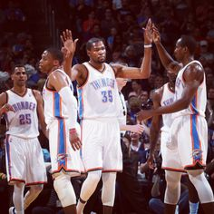 Thunder picks up win number 58, 116-94 over Pelicans. Kevin Durant 27p, Russell Westbrook 24.