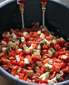 Chopped Caprese Salad | Fresh Summer Recipes | Fab Housewife