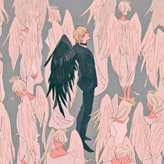 bts fanart v/taehyung Character Inspiration, Character Art, Character Design, Kpop Fanart, Ange Demon, Illustration Art, Illustrations, Bts Drawings, Bts Chibi