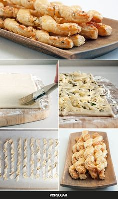 We're confident that if you make these easy yet impressive cheese straws for your next soirée, you will fall hard for store-bought puff pastry. That is, if you're not already on best-friend terms with the genius ingredient. These gloriously flaky cheese straws might seem complex to construct, but really, it's just the butter-filled layers of puff pastry and a kiss of heat from the oven at work.