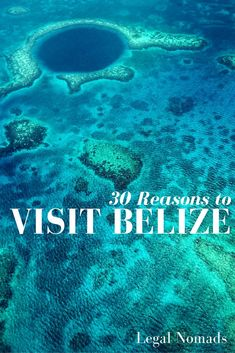 30 reasons to visit Belize in Central America - including the Mayan ruins and the Great Blue Hole Belize Honeymoon, Belize Vacations, Belize Travel, Honeymoon Destinations, Belize Resorts, Honduras, Costa Rica, Great Blue Hole, To Go