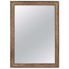 19th Century French Gilt Mirror | From a unique collection of antique and modern wall mirrors at https://www.1stdibs.com/furniture/mirrors/wall-mirrors/