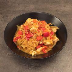 Sauerkraut-Paprika-Topf mit Hähnchen – howegethealthy