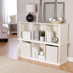 stackable horizontal storage - use for bench seating also