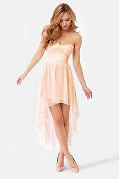 Pretty Light Pink Dress.
