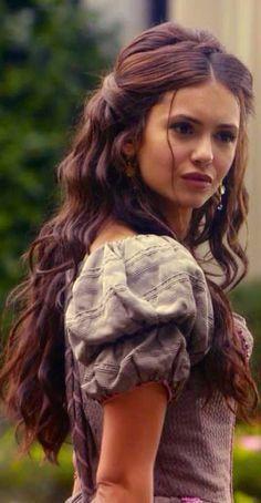 Nina Dobrev as Katherine Pierce in The Vampire Diaries