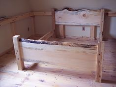 unique live edge beds - Google Search