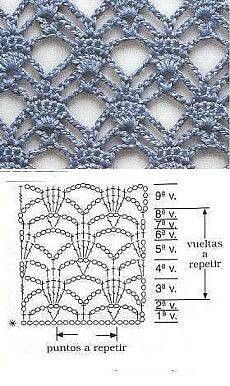 Watch This Video Beauteous Finished Make Crochet Look Like Knitting (the Waistcoat Stitch) Ideas. Amazing Make Crochet Look Like Knitting (the Waistcoat Stitch) Ideas. Crochet Motifs, Crochet Borders, Crochet Diagram, Crochet Stitches Patterns, Crochet Chart, Love Crochet, Knitting Stitches, Crochet Designs, Stitch Patterns