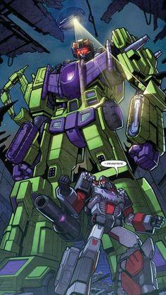 """Transformers (""""Devastate"""")."""