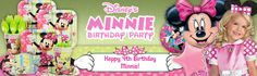 Minnie Mouse Party party supplies