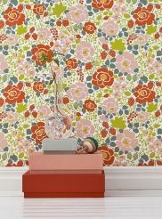 The wallpaper Jordgubben - 5466 from Boråstapeter is wallpaper with the dimensions m x m. The wallpaper Jordgubben - 5466 belongs to the popular wallp Orange Wallpaper, Wallpaper, Modern Wallpaper, Retro Wallpaper, Dark Wallpaper, Vintage Wallpaper, Mid Century Modern Wallpaper, Designer Wallpaper, Paint Colors For Home