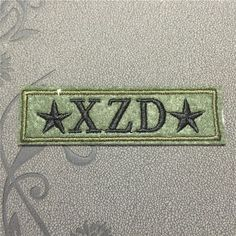 XZD Army Patch Iron on Applique Embroidered Iron-On Patches sew on patches