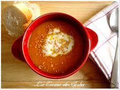 La cocina de Aisha: Crema de zanahoria y naranja