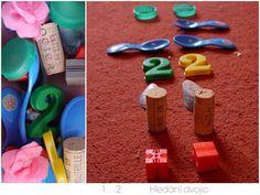 Základy počítání pro malé děti hledání dvojic