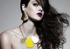 Fan out Necklace and Earrings by Dean Davidson.