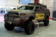 offroad toyota tundra camper | SEMA NEWS: 2012 Off Road Vehicles - EXPLORING ELEMENTS