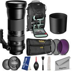Tamron SP 150-600mm f/5-6.3 Di VC USD Lens for Canon EOS Rebel DSLR Camera