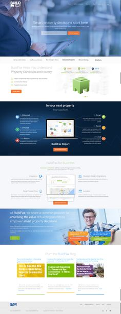 Lion's Share worked with BuildFax to #redesign their website and customer portal. The primary goal was to lead users to experience their sample property summary which was redesigned to deliver an immense amount of visual data in a compact space. This has led to a significant increase in sample summary usage and ultimately, #conversions. #WebDesign #Design