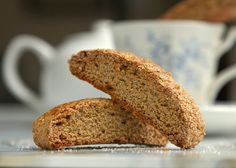 Get your Pumpkin Spice fix with these low-fat but full flavor Pumpkin Spice Biscotti!