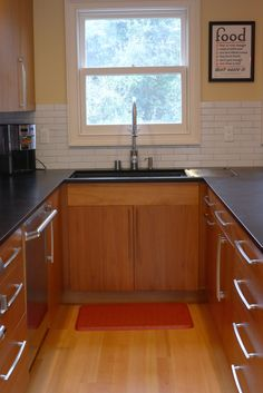 Beau Our Final Kitchen With Paperstone, Fireclay Tiles And Lyptus Cabinets.