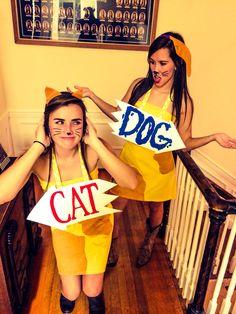 CatDog Halloween costume!