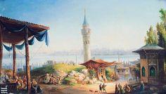 (Divlit-i `Aliyyih-i `Utsmaaniyyih, Islaambuul) (1200s H Artwork; Latin) #OttomanCaliphate #Istanbul #Constantinople