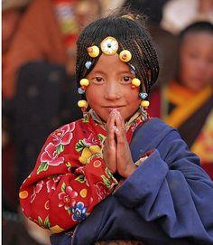 Meisje uit de oostelijke Dzachuka