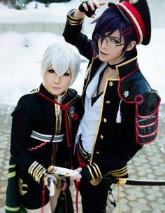 Stahli(Stahli) Akashi Kuniyuki, Nova(Prince Shota) Hotarumaru Cosplay Photo - Cure WorldCosplay