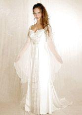 Fairy fantasy wedding dresses