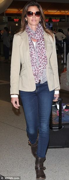 Cindy Crawford's perfect travel style - now available online - www.lepetitshopnyc.com