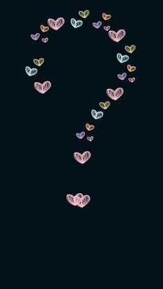 Ideas wallpaper cute backgrounds kawaii heart in 2019 Black Wallpaper Iphone Dark, Emoji Wallpaper, Heart Wallpaper, Apple Wallpaper, Butterfly Wallpaper, Wallpaper Iphone Cute, Cellphone Wallpaper, Colorful Wallpaper, Aesthetic Iphone Wallpaper