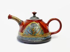 Ceramic teapot. Pottery teapot. Tea pot Handmade by DankoHandmade