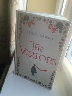 The day my hardback of The Visitors arrived...