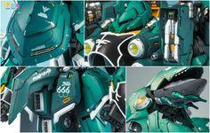 GUNDAM GUY: G-System 1:72 NZ-666 Kshatriya - Painted Build