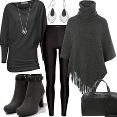 Anthrazit Style #fashion #mode #look #style #trend #outfit #sexy #luxury #stylaholic