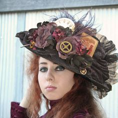 Steam Ingenious: Friday Finds: Some of my favorite Steampunk Hats