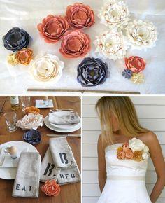 Pretty Pretty Fabric Flowers