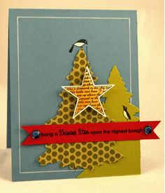 Merry Little Christmas and Star Prints...soo cute with the bird holding the star....