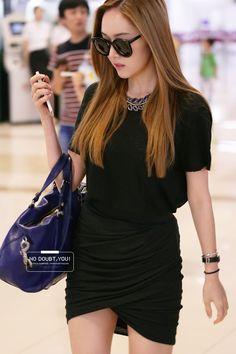 Jessica Jung * 제시카정 * 💜 💖 : @ Airport