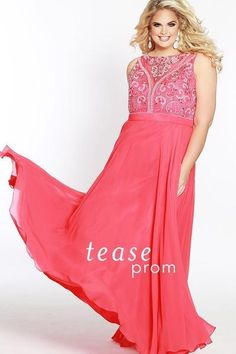52391fd9794 Make a grand entrace at Prom 2018 or any formal in a red chiffon long dress.