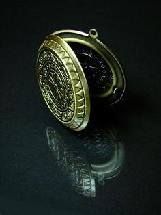 Komponenty - Vintage medailón na fotku, Ø 44 mm - 977173