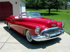 1953 Buick Skylark convertible with continental package :: Front