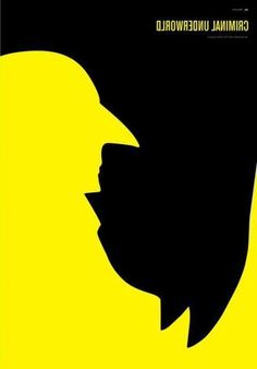 I glanced at this and instantly thought this was a Despicable Me poster of some kind. The yellow part looks like Gru. Cannot be unseen.