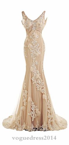 Cheap dress exotic, Buy Quality dress up free games directly from China dress up time prom dresses Suppliers: Champagne Couture Mermaid Wedding Dresses 2016 Backless Mermaid Bridal Dresses Hochzeitskleid Bridal Gowns China-Online-Store Dresses Elegant, Pretty Dresses, Vintage Dresses, Vintage Outfits, Sexy Dresses, Prom Dresses, Formal Dresses, Dress Prom, Summer Dresses