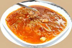 Katica konyhája: Korhelyleves, nemcsak Szilveszterre (ahogy én kész... Croatian Recipes, Thai Red Curry, Ethnic Recipes, Soups, Food, Essen, Soup, Meals, Yemek