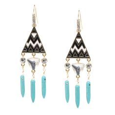 Stone's Throw earrings