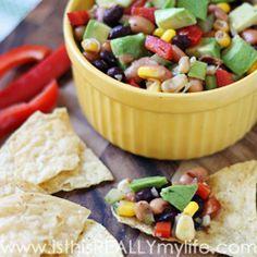 Cowboy Caviar (aka Cowboy Salsa) -- super easy appetizer that